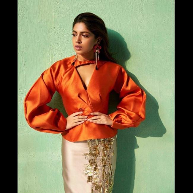 Bhumi Pednekar strikes a pose for Verve shoot