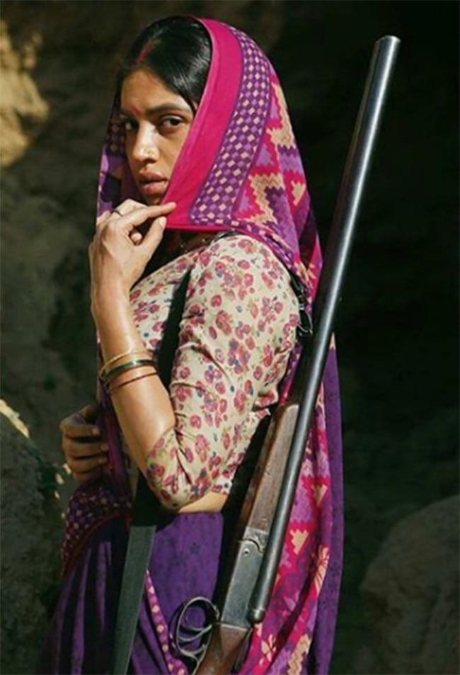 Bhumi Pednekar   s first look from Sonchiriya