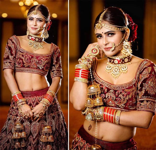Bigg Boss 13 Fame Madhurima Tuli s bridal avatar that you simply cannot ignore