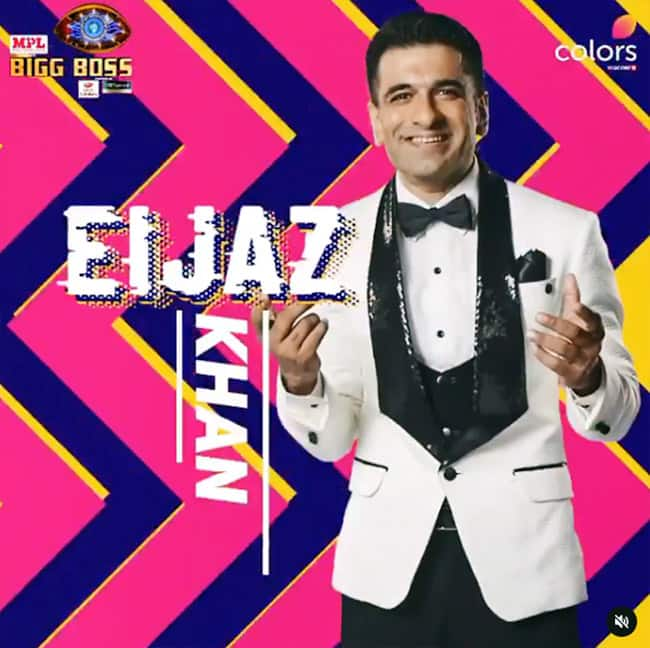 Bigg Boss 14 s first contestant Eijaz Khan
