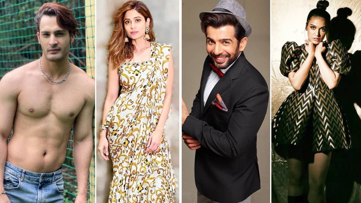 Bigg Boss 15 confirmed List of Contestants  List of 15 Participants That Are Locked Inside The House