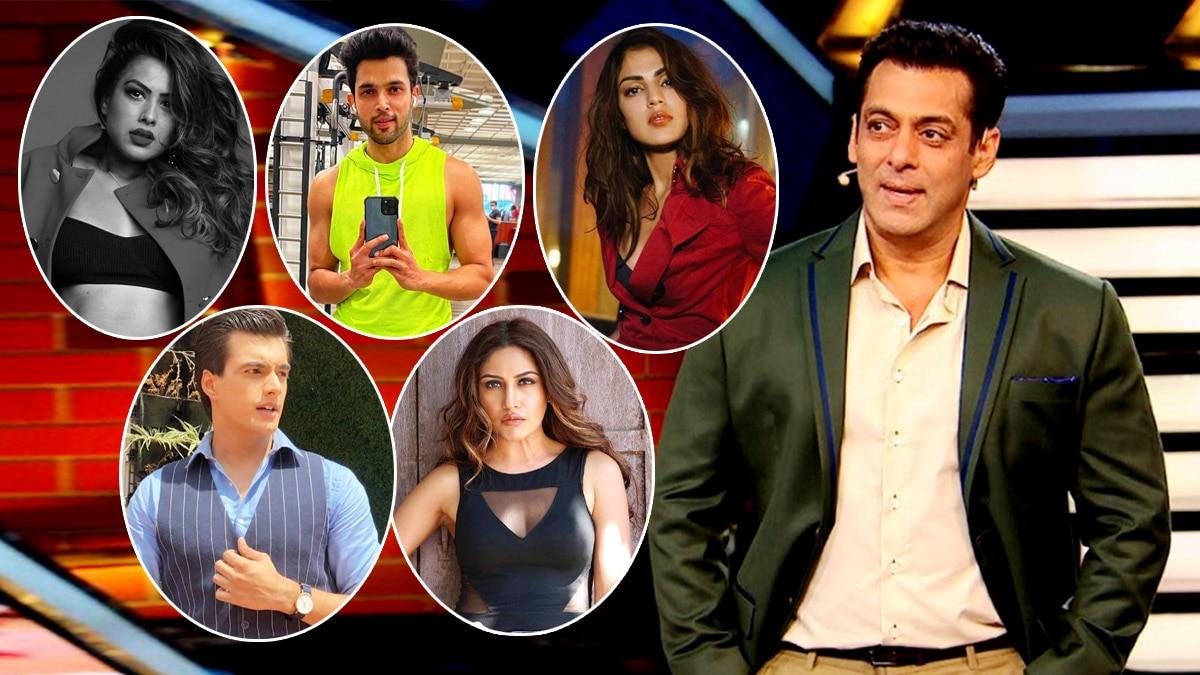 Bigg Boss 15  From Rhea Chakraborty To Disha Vakani And Divyanka Tripathi  These 12 Celebs Are Likely To Enter Salman Khan Hosted Show