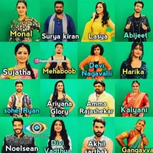 Bigg Boss Telugu 4: Check The List of 16 Contestants Locked Inside The Controversial House