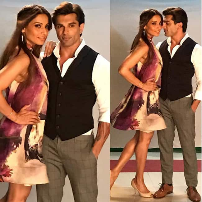 Bipasha Basu and Karan Singh Grover pose for a hot picture