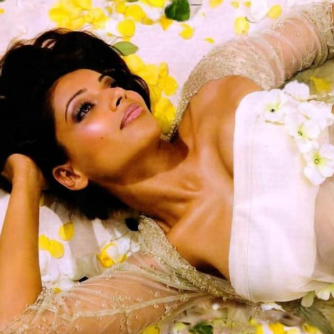 Bipasha Basu flaunting her cleavage during hot shoot