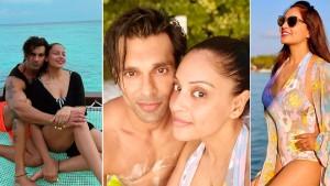 Bipasha Basu Vacays in Maldives With Hubby Karan Singh Grover - See Her Bikini Pictures