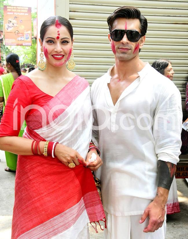 Bipasha Basu s Durga Puja celebrations