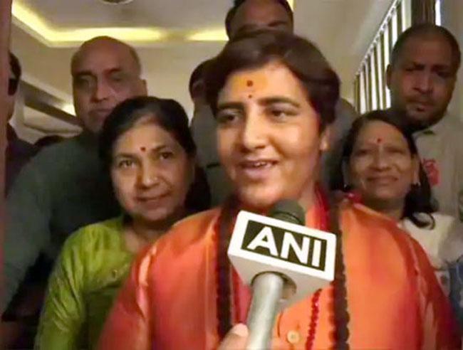 BJP Picks Malegaon Accused Sadhvi Pragya For Bhopal LS Seat Against Congress Heavyweight Digvijaya Singh