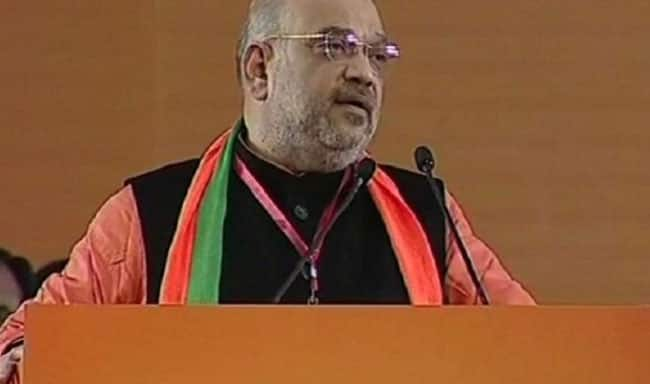 BJP Wants Ram Mandir to be Built at Earliest  Congress Creating Obstacles  Amit Shah
