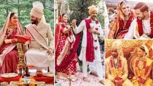 From Yami Gautam to Aishwarya Rai, Bollywood Brides Who Chose Saree Over Lehengas | See Pics