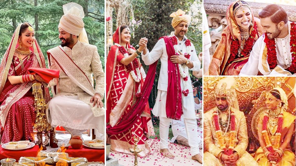 Bollywood actresses and their bridal sarees