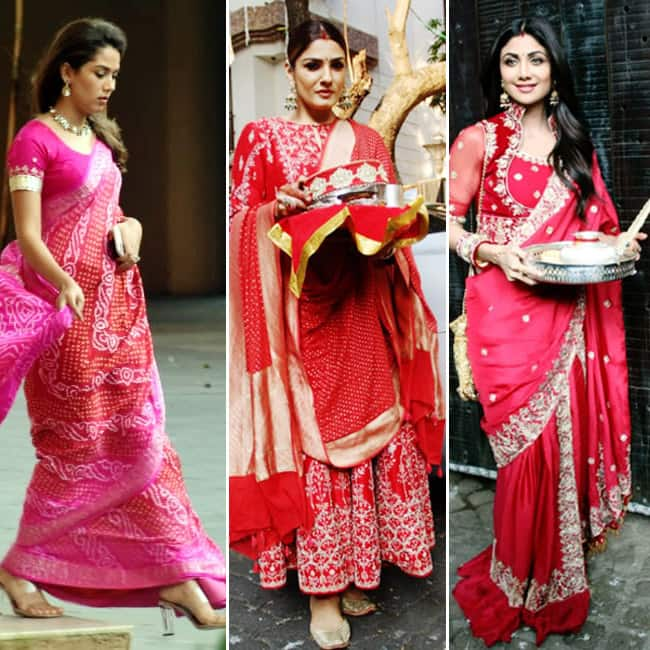Bollywood Celebrities Style up For Karva Chauth
