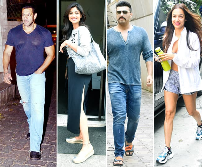 Bollywood Celebrities Walk Out of Their House Making a Style Statement