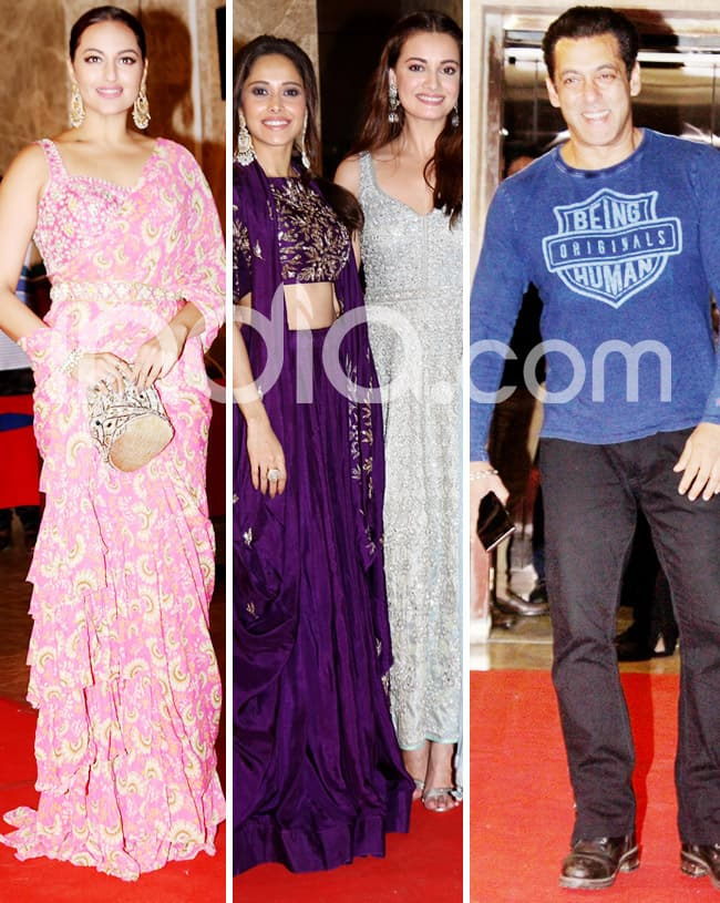 Bollywood celebs at Diwali party