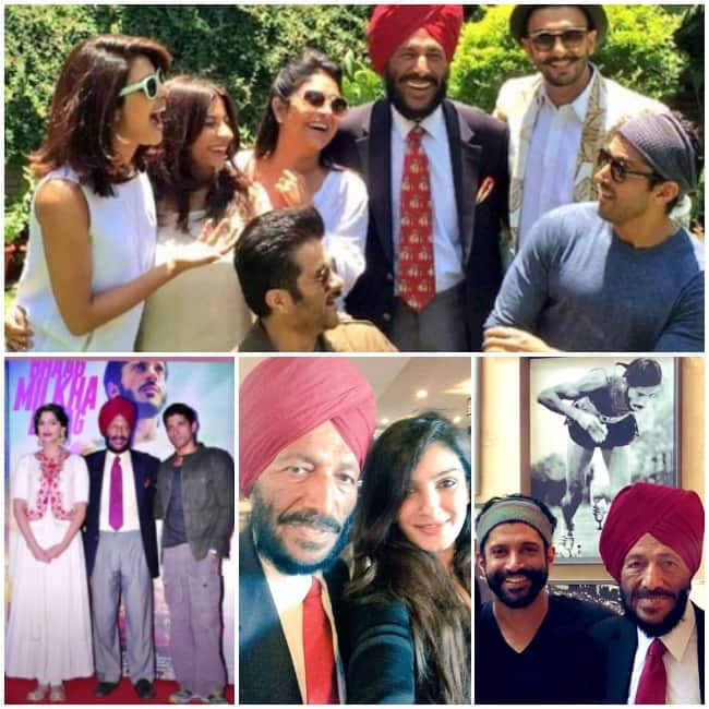 Bollywood Celebs pay tribute to Milkha Singh