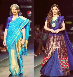 Lotus Make-up India Fashion Week: Sharmila Tagore to Shibani Dandekar, B'Town Celebs Grace The Ramp Walk