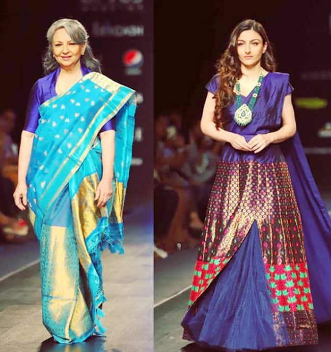 Bollywood Celebs Walks The Ramp Walk at Fashion Week