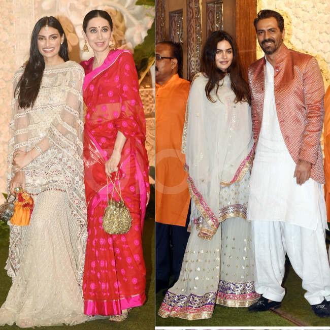 Bollywood glitz at the Ambanis