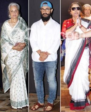 Shaukat Kaifi's Prayer Meet: Aamir Khan, Anil Kapoor, Waheeda Rehman And Others Pay Their Last Respect