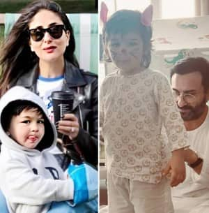 Kareena Kapoor Khan-Saif Ali Khan Love Playing With Their Easter Bunny Taimur - These Photos Are Proof