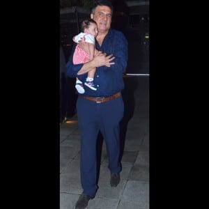 Awww! Boman Irani gives first glimpse of grandson Ziaan during family outing in Mumbai