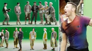 From BTS Dancing In Green Studio To Chris Martin In Barcelona: How My Universe Music Video Was Shot   Pics