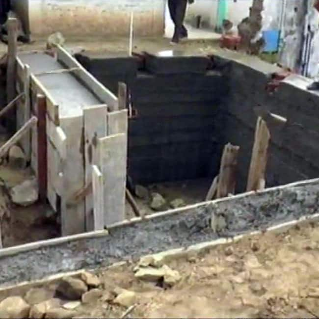 Bunkers being constructed in Rajouri area of Kashmir
