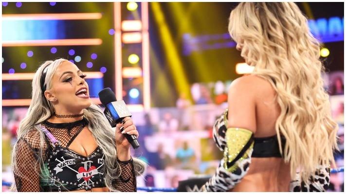 Carmella was named to Money in the Bank Ladder Match  Liv Morgan def  Carmella