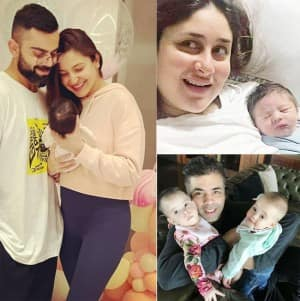From Vamika Kohli, Taimur Ali Khan to Samisha Shetty - 11 Bollywood Babies And Their First Pictures