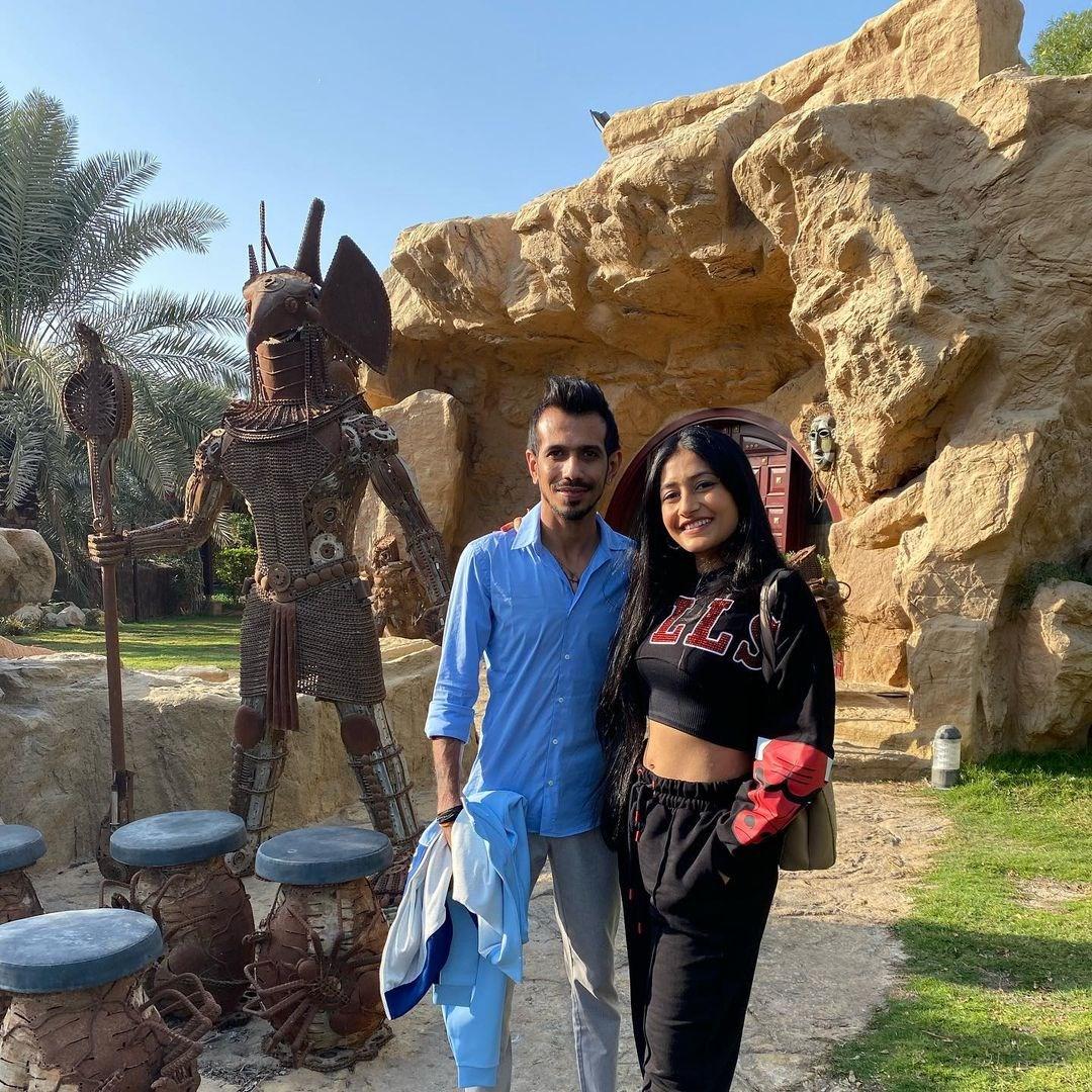 Chahal Dhanashree Sizzle During Dubai Honeymoon