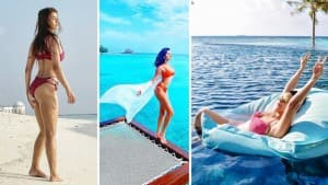 From Rakul Preet Singh To Samantha Akkeneni, Here Are The Bikini Pictures of Actors Flaunting Their Curves in Maldives