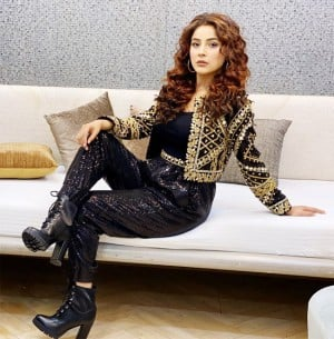 Check Out: Shehnaaz Gill Looks All Set to Make Your Weekend Special in Her Black-Golden Outfit