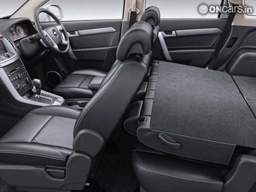 Chevrolet Captiva 2012 Interior img2