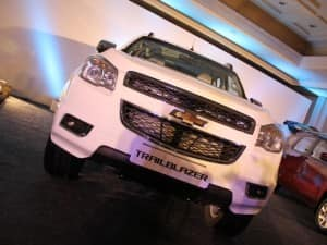 Chevrolet Trailblazer SUV: Image Gallery