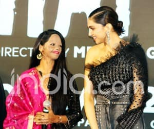 Deepika Padukone Launches Chhapaak's Title Song With Laxmi Agarwal And Others