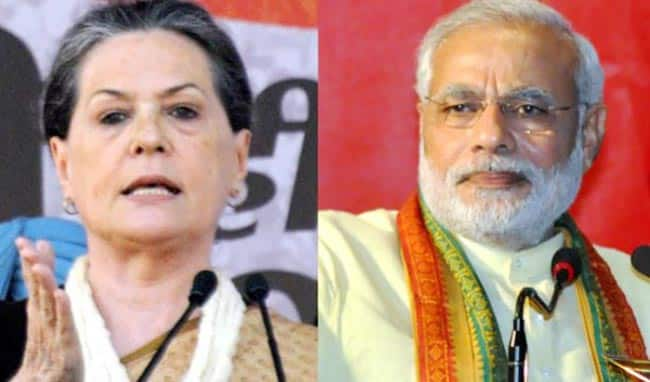 Congress CWC Meet  Sonia Gandhi Hits Out at PM Modi  Accuses Him of Playing Politics Over Terror Attacks For Electoral Gains