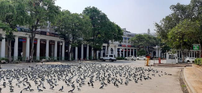 Connaught Place Janta Curfew