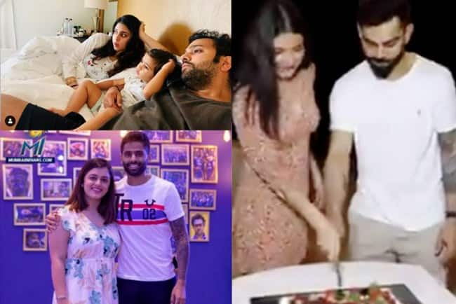 IPL 2020, In Pictures: Indian Cricketers With Their Partners in Bio-Secure Bubble