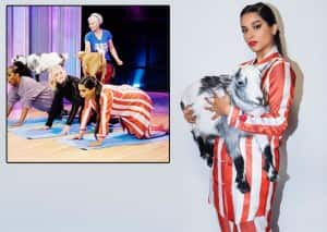 In PHOTOS: G.O.A.T. Lilly Singh Posing With Goat While Doing Yoga is Too Funny to Not Crack You up