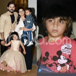 AbRam Khan, Sreesanth's Family, Kashmira Shah Spotted at Sachiin Joshi's Son's Birthday Party
