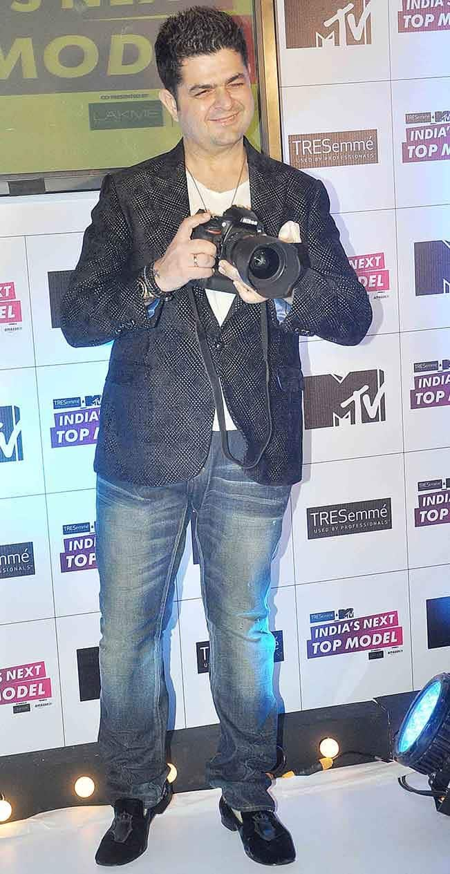 Dabboo Ratnani at the launch of MTV show India   s Next Top Model