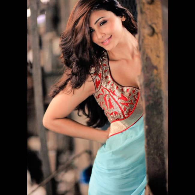 Daisy Shah poses for a seductive picture