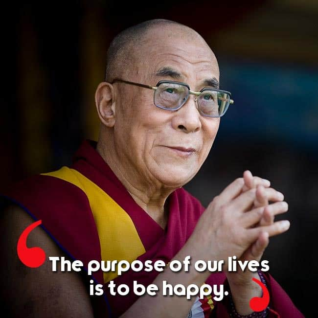 Dalai Lama s quote on happiness   Birthday special: On 80th birthday