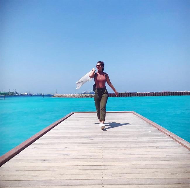 Dalljiet Kaur's Sassy Instagram Picture