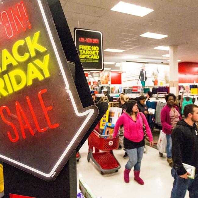 Date for Black Friday and Cyber Monday deals and sale