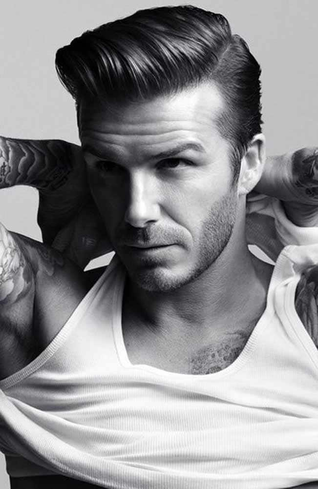 David Beckham Poses For A Hot Picture