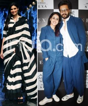 LFW 2019: Athiya Shetty, Mrunal Thakur, Riteish-Genelia Glam up