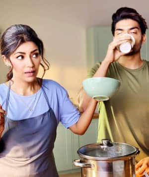 Debina Bonnerjee Remembers Her Pre-Lockdown Days, Shares Throwback Cooking Pictures from Pril Shoot With Husband Gurmeet Choudhary