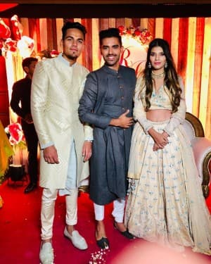 20-Year-Old Indian Cricketer Rahul Chahar Gets Engaged to Long-Time Girlfriend Ishani | SEE PHOTOS