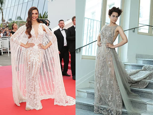 Deepika Padukone and Kangana Ranaut at Cannes Film Festival 2018